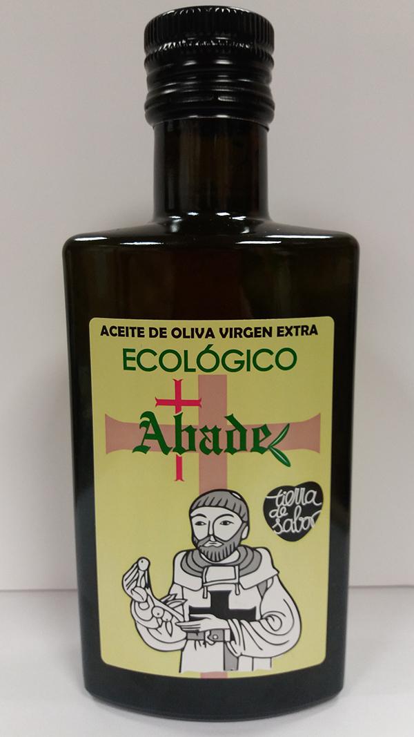 Botella aceite ecologico Abade 25cl