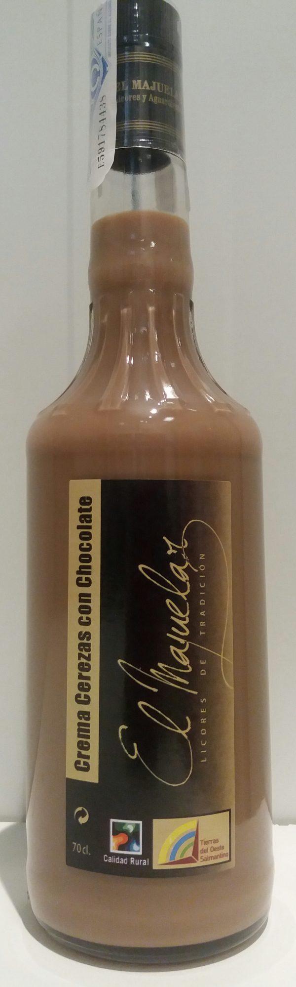 Crema de Cerezas con Chocolate
