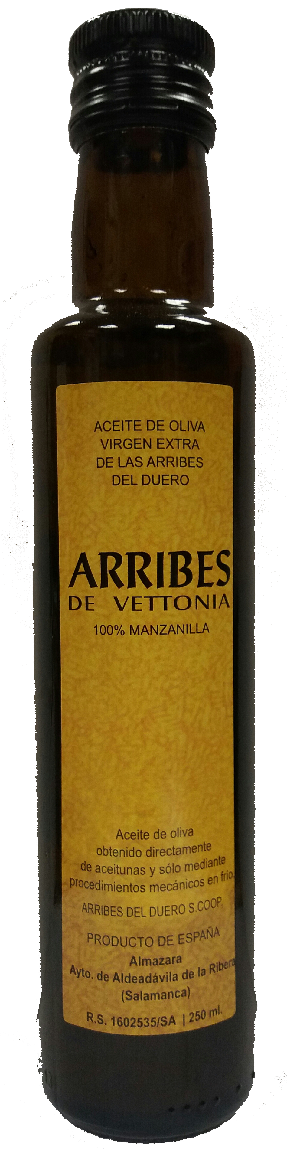 Botella aceite arribes 25cl